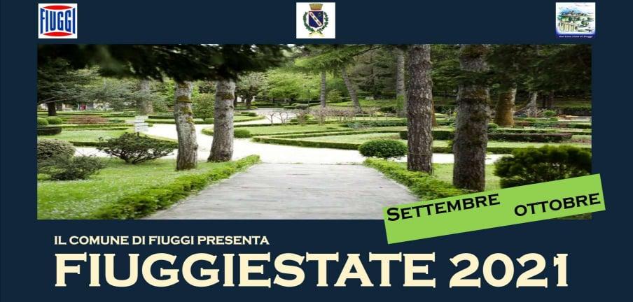 FIUGGIESTATE 2021 Il Programma dei mesi settembre e ottobre 2021